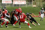 7.6.2009 EFAF Cup Semi - Panthers vs. Amsterdam Crusaders